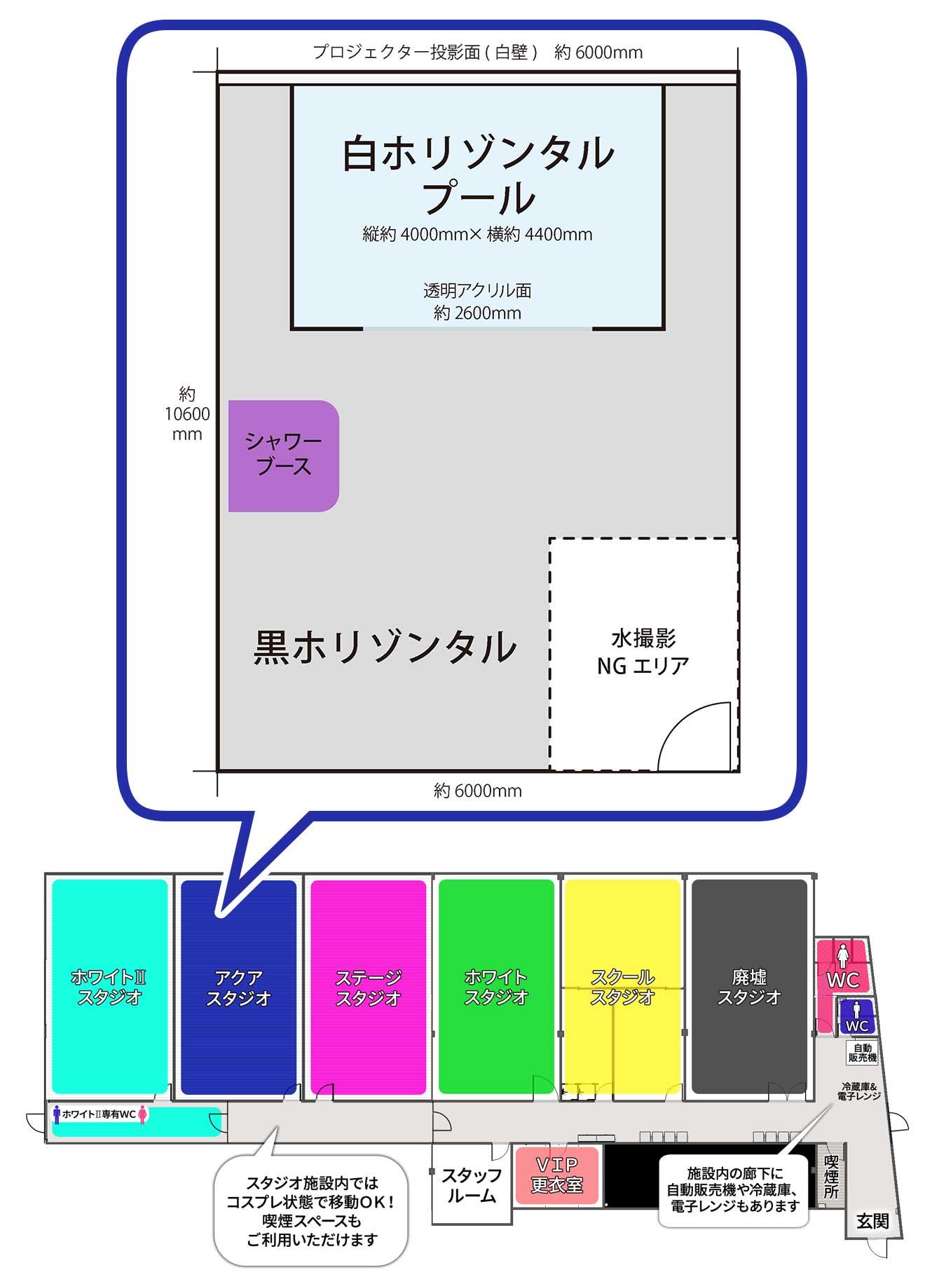 新大阪店アクアスタジオ