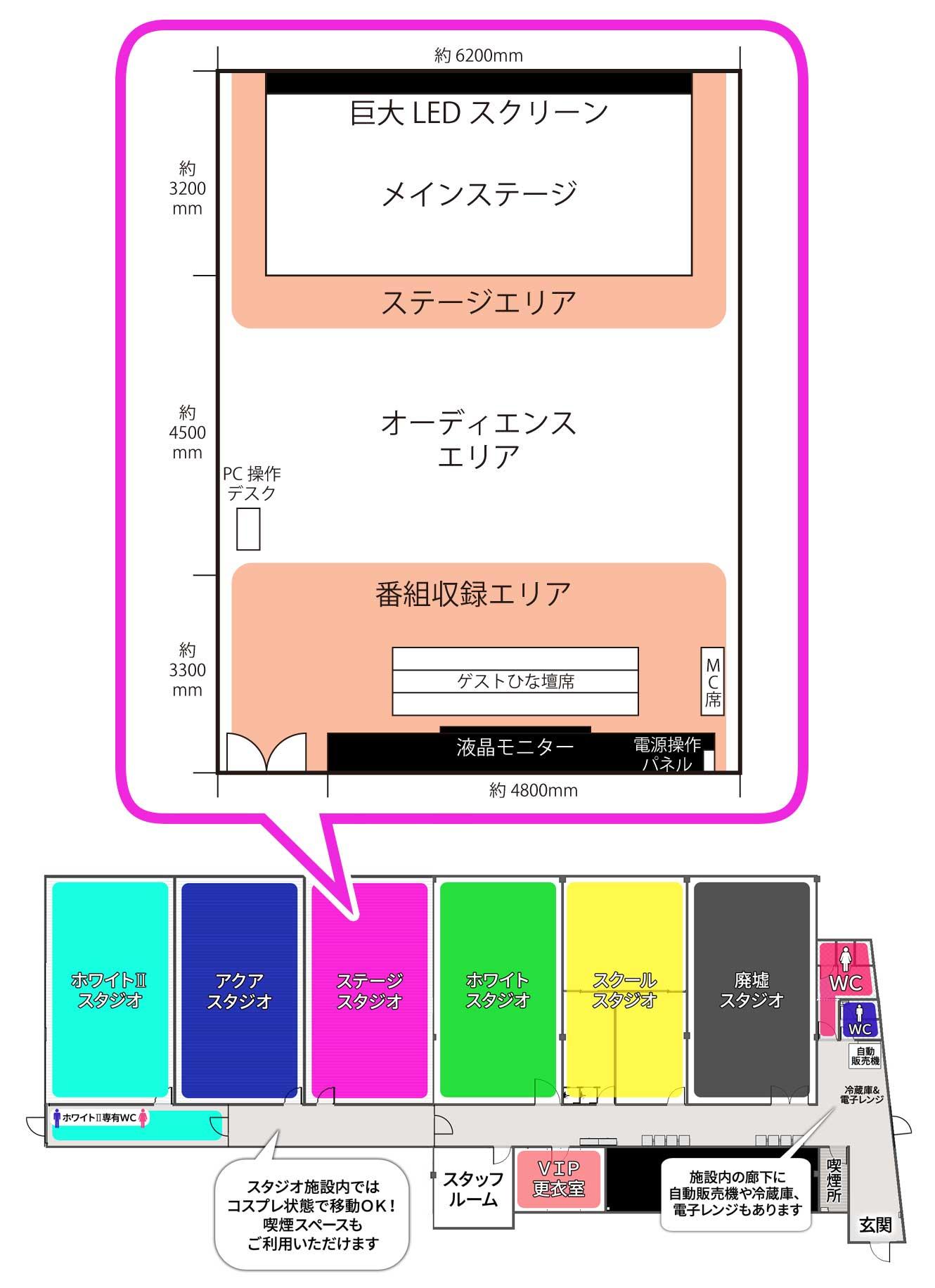 新大阪店ステージスタジオ