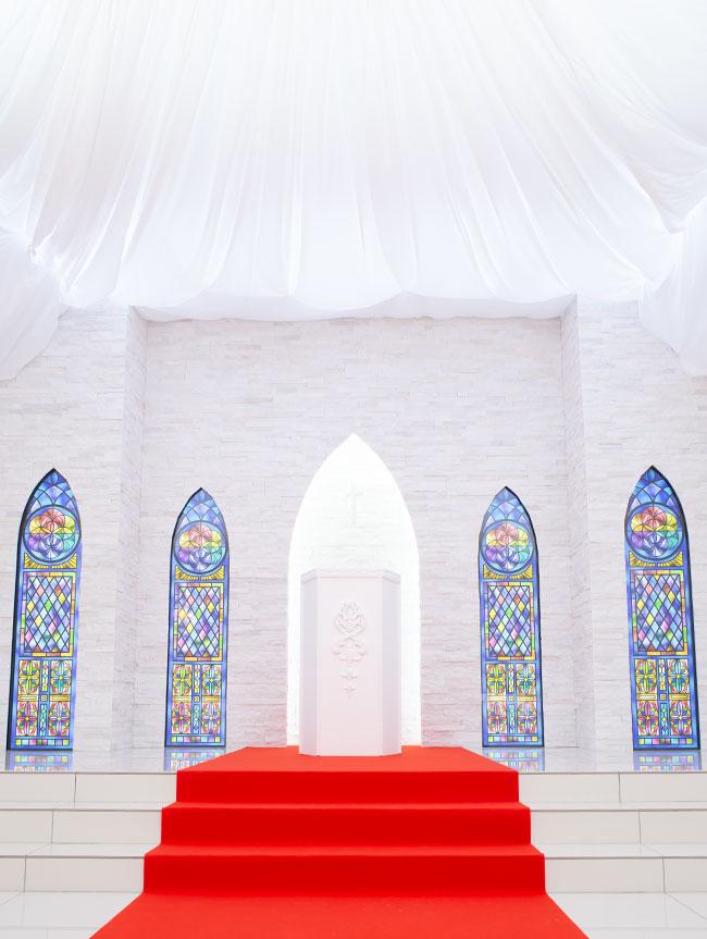 祭壇で永遠の愛を。